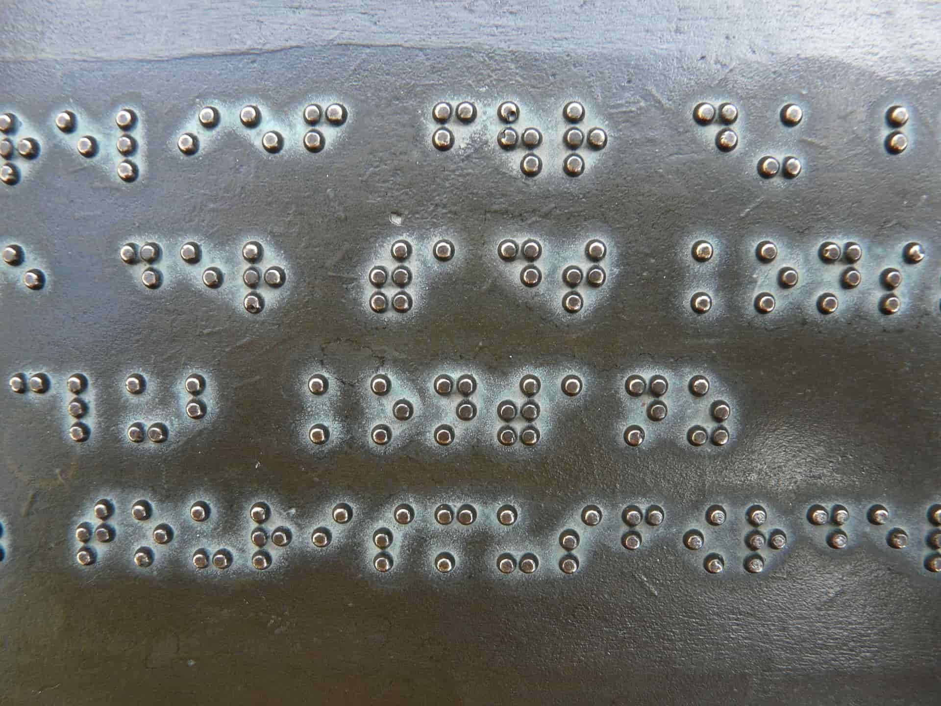 Biblioteka Emgu CV i alfabet Braille